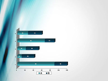 Abstract Air Flow PowerPoint Template Slide 11