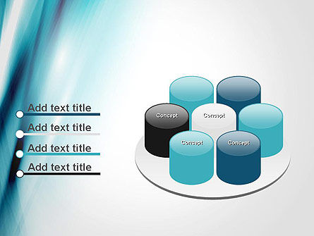 Abstract Air Flow PowerPoint Template Slide 12