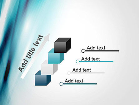 Abstract Air Flow PowerPoint Template Slide 14