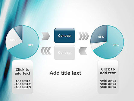 Abstract Air Flow PowerPoint Template Slide 16