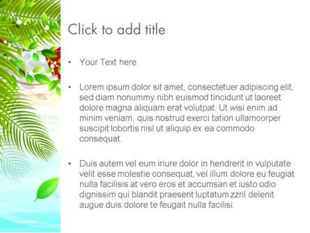 Tropical Holidays PowerPoint Template, Slide 3, 13962, Holiday/Special Occasion — PoweredTemplate.com