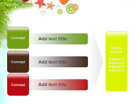 Tropical Holidays PowerPoint Template Slide 12