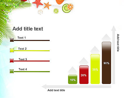 Tropical Holidays PowerPoint Template Slide 8