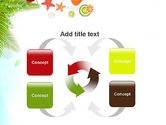 Tropical Holidays PowerPoint Template#6