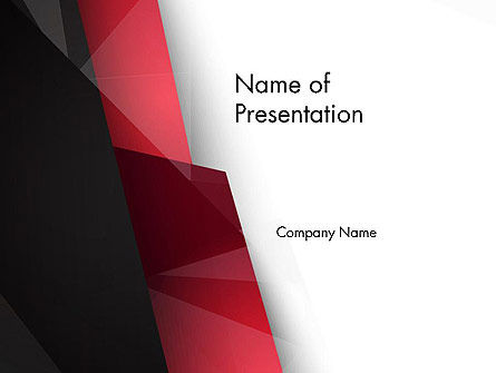 Low Polygons Abstract PowerPoint Template, 13963, Abstract/Textures — PoweredTemplate.com