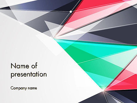 Abstract Polygonal PowerPoint Template