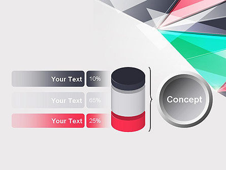 Abstract Polygonal PowerPoint Template Slide 11