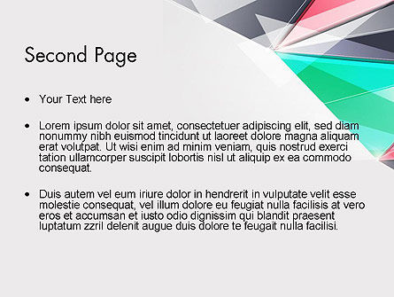 Abstract Polygonal PowerPoint Template Slide 2