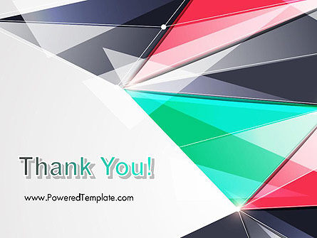 Abstract Polygonal PowerPoint Template Slide 20