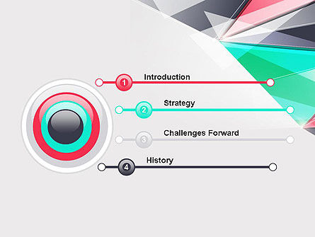 Abstract Polygonal PowerPoint Template, Slide 3, 13965, Abstract/Textures — PoweredTemplate.com