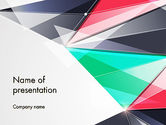 Abstract/Textures: Abstract Polygonal PowerPoint Template #13965