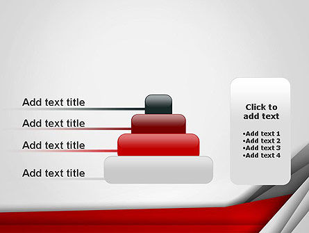 Folded Layers Abstract PowerPoint Template Slide 8