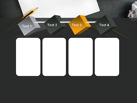 Notepad with Crumpled Pages PowerPoint Template Slide 18