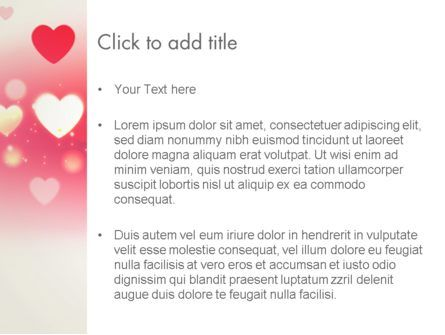Pink Valentines Day PowerPoint Template, Slide 3, 13973, Holiday/Special Occasion — PoweredTemplate.com