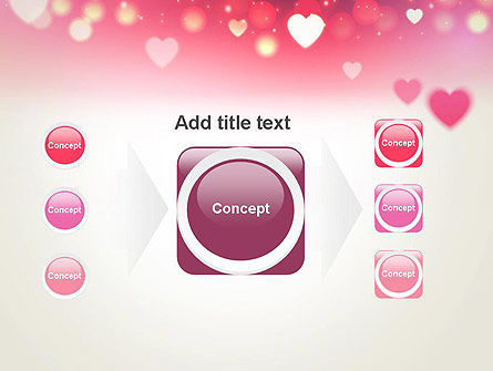 Pink Valentines Day PowerPoint Template Slide 17