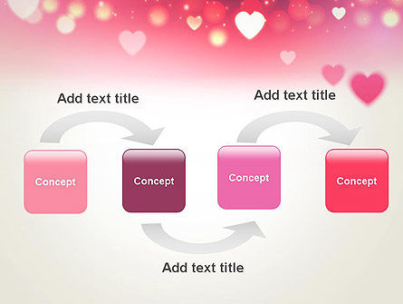 Pink Valentines Day PowerPoint Template, Slide 4, 13973, Holiday/Special Occasion — PoweredTemplate.com