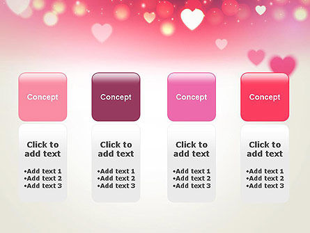 Pink Valentines Day PowerPoint Template Slide 5