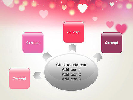 Pink Valentines Day PowerPoint Template Slide 7