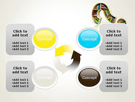 Question Mark With Books PowerPoint Template Slide 9