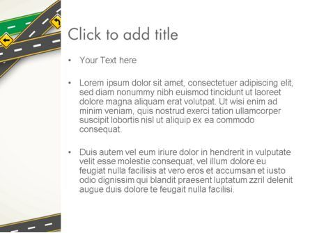 Road Traffic PowerPoint Template, Slide 3, 13976, Cars and Transportation — PoweredTemplate.com