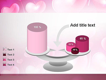 Fantasy Hearts PowerPoint Template Slide 10