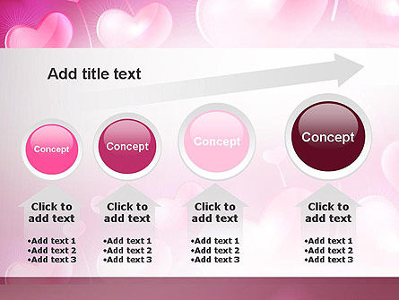 Fantasy Hearts PowerPoint Template Slide 13