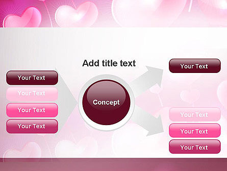 Fantasy Hearts PowerPoint Template Slide 14