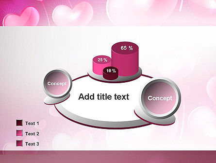 Fantasy Hearts PowerPoint Template Slide 16
