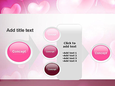 Fantasy Hearts PowerPoint Template Slide 17