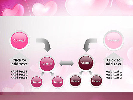 Fantasy Hearts PowerPoint Template Slide 19