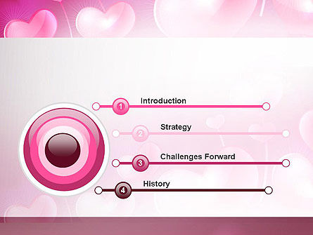 Fantasy Hearts PowerPoint Template, Slide 3, 13977, Holiday/Special Occasion — PoweredTemplate.com