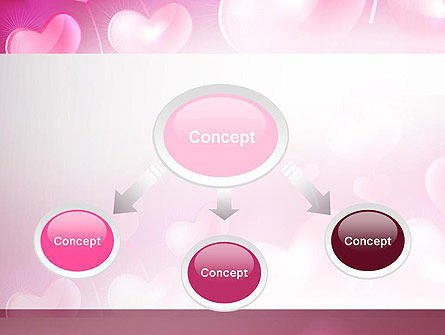 Fantasy Hearts PowerPoint Template, Slide 4, 13977, Holiday/Special Occasion — PoweredTemplate.com