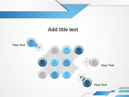 Directed Layers Abstract PowerPoint Template Slide 10