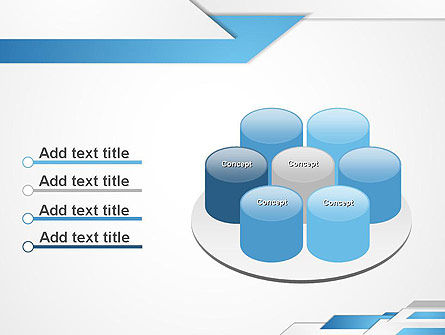 Directed Layers Abstract PowerPoint Template Slide 12