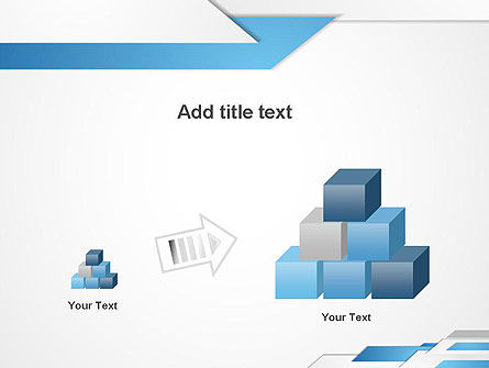 Directed Layers Abstract PowerPoint Template Slide 13