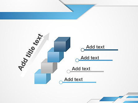 Directed Layers Abstract PowerPoint Template Slide 14