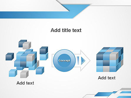 Directed Layers Abstract PowerPoint Template Slide 17
