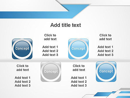 Directed Layers Abstract PowerPoint Template Slide 18