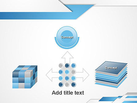 Directed Layers Abstract PowerPoint Template Slide 19