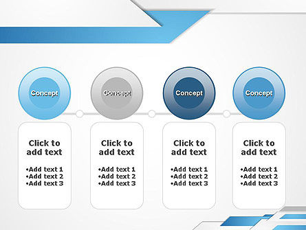 Directed Layers Abstract PowerPoint Template Slide 5