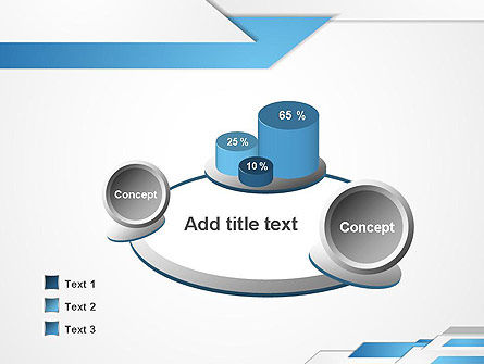 Directed Layers Abstract PowerPoint Template Slide 6