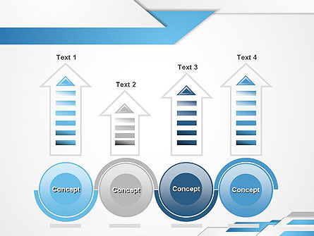 Directed Layers Abstract PowerPoint Template Slide 7