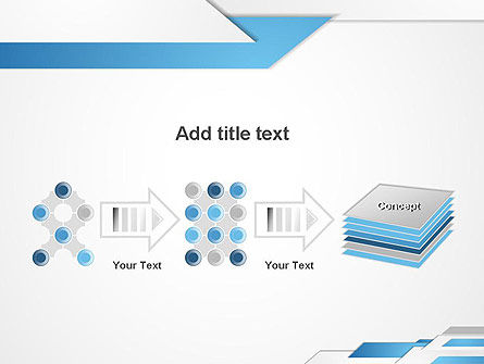 Directed Layers Abstract PowerPoint Template Slide 9