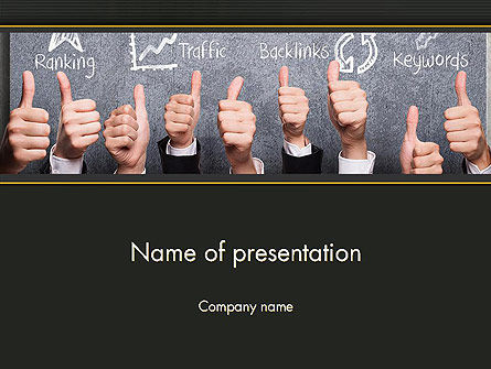 Careers/Industry: SEO Concept PowerPoint Template #13979