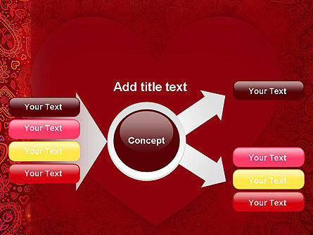 Love Frame PowerPoint Template Slide 14