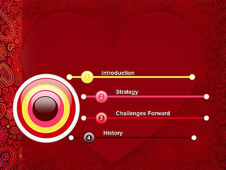 Love Frame PowerPoint Template, Slide 3, 13980, Holiday/Special Occasion — PoweredTemplate.com