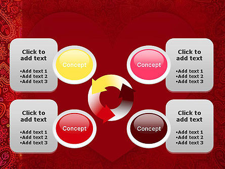 Love Frame PowerPoint Template Slide 9
