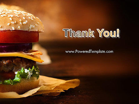 Gourmet Burger PowerPoint Template Slide 20