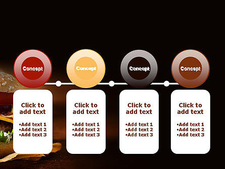 Gourmet Burger PowerPoint Template Slide 5