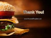 Gourmet Burger PowerPoint Template#20
